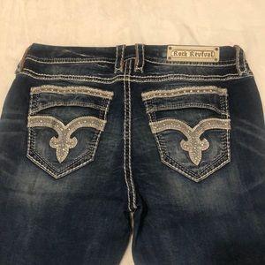 Rock Revival Easy Ankle Skinny Jeans, SZ 33 - NEW!